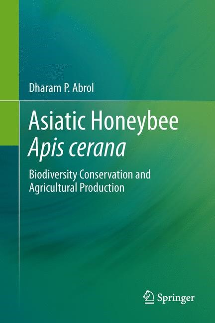 Asiatic Honeybee Apis cerana | Abrol, 2013 | Buch (Cover)