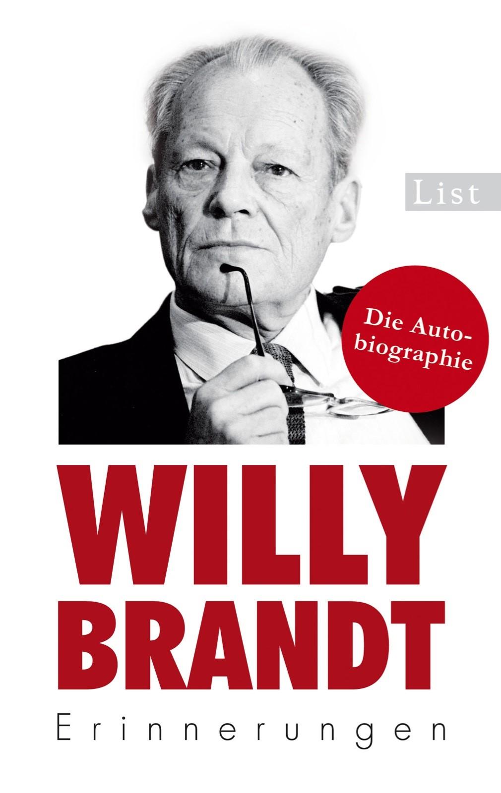 Erinnerungen | Brandt, 2013 | Buch (Cover)