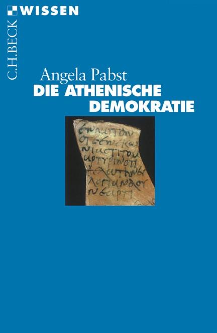 Cover: Angela Pabst, Die athenische Demokratie