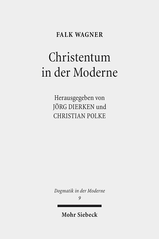 Abbildung von Dierken / Polke   Christentum in der Moderne   2014