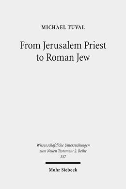 Abbildung von Tuval | From Jerusalem Priest to Roman Jew | 2013 | On Josephus and the Paradigms ... | 357
