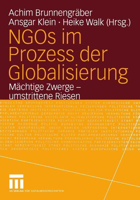 Abbildung von Brunnengräber / Klein / Walk | NGOs im Prozess der Globalisierung | 2005 | 2005