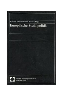 Abbildung von Schmähl / Rische | Europäische Sozialpolitik | 1997
