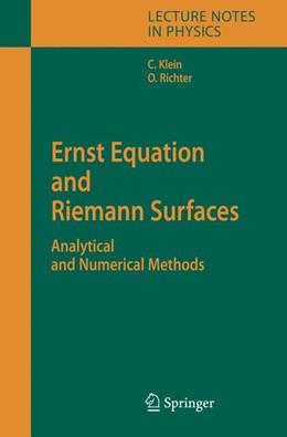 Abbildung von Klein / Richter | Ernst Equation and Riemann Surfaces | 2005 | Analytical and Numerical Metho... | 685