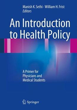 Abbildung von Sethi / Frist | An Introduction to Health Policy | 2013