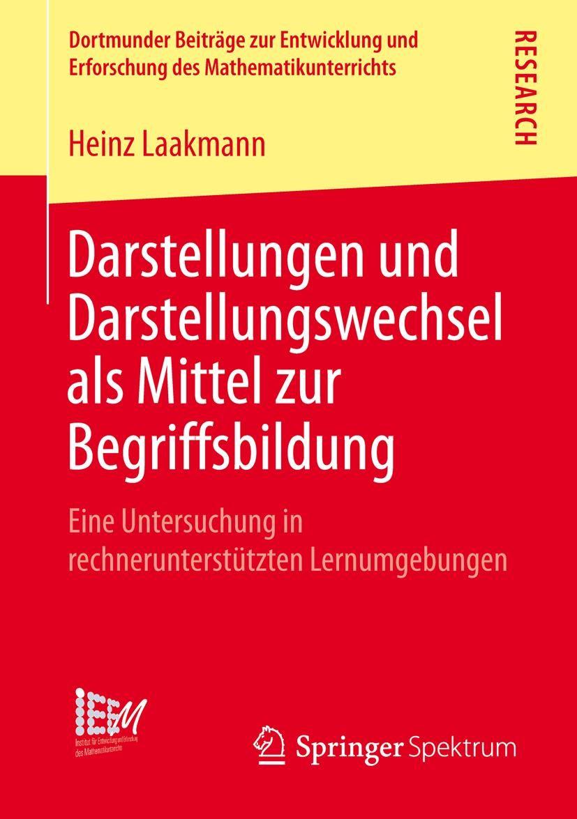 Abbildung von Laakmann | Darstellungen und Darstellungswechsel als Mittel zur Begriffsbildung | 2013