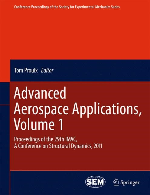 Abbildung von Proulx | Advanced Aerospace Applications, Volume 1 | 2013