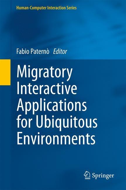 Abbildung von Paternò | Migratory Interactive Applications for Ubiquitous Environments | 2013