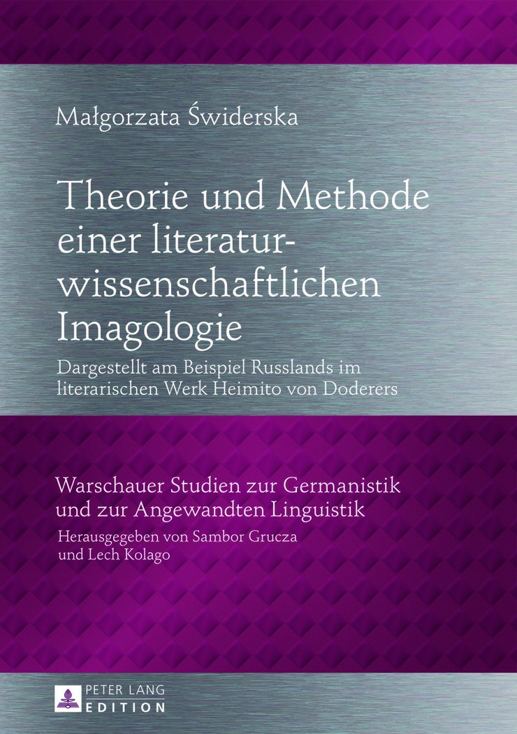 Abbildung von Swiderska | Theorie und Methode einer literaturwissenschaftlichen Imagologie | 2013