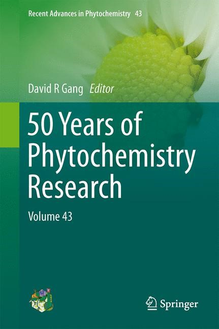 Abbildung von Gang | 50 Years of Phytochemistry Research | 2013