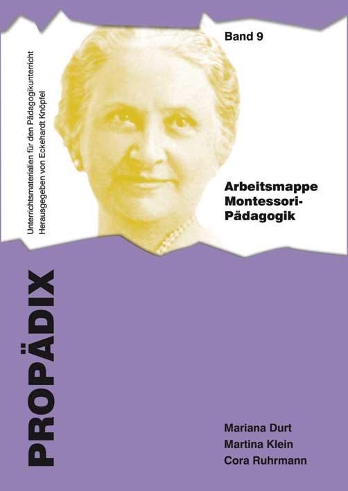 Abbildung von Durt / Klein / Ruhrmann   Arbeitsmappe Montessori-Pädagogik   2013