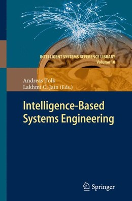 Abbildung von Tolk / Jain | Intelligent-Based Systems Engineering | 2013
