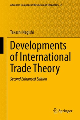 Abbildung von Negishi | Developments of International Trade Theory | Second Enhanced Edition | 2013 | 2