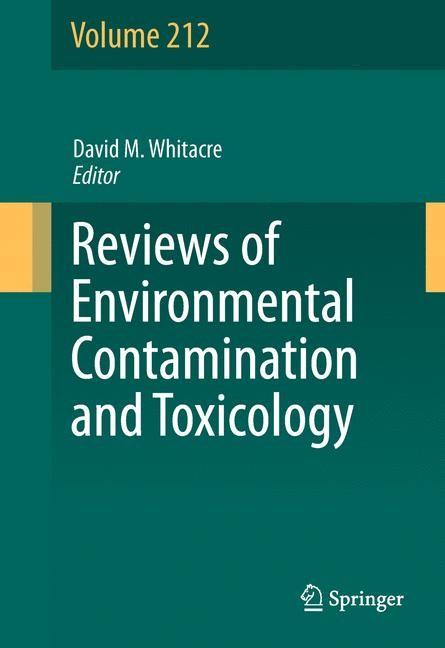 Abbildung von Whitacre | Reviews of Environmental Contamination and Toxicology Volume 212 | 2013