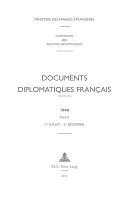 Abbildung von Documents diplomatiques français | 2013 | 1948 – Tome II (1er juillet – ... | 12