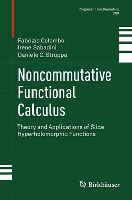 Abbildung von Politecnico di Milano / Sabadini / Struppa | Noncommutative Functional Calculus | 2013 | Theory and Applications of Sli... | 289