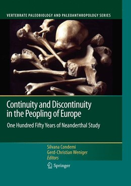 Abbildung von Condemi / Weniger | Continuity and Discontinuity in the Peopling of Europe | 2013 | One Hundred Fifty Years of Nea...