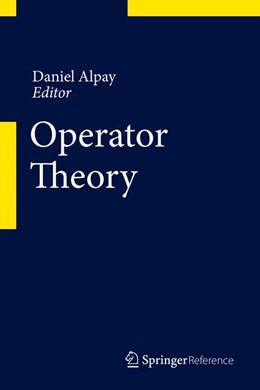 Abbildung von Alpay   Operator Theory   1st ed. 2015   2015