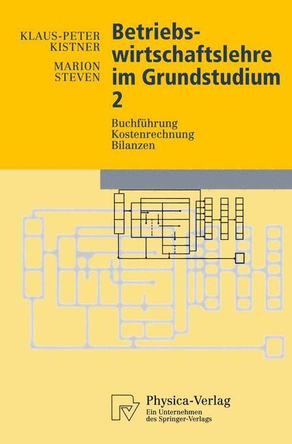 Abbildung von Kistner / Steven | Betriebswirtschaftslehre im Grundstudium 2 | 1997
