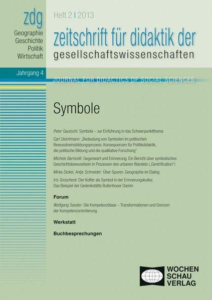 Abbildung von Rhode-Jüchtern / Gautschi / Sander | ZDG 1/13, Symbole | 2013