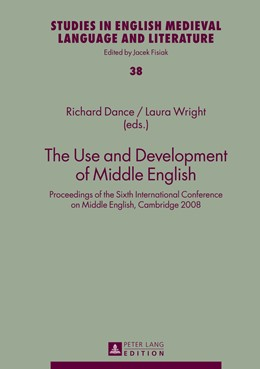 Abbildung von Wright / Dance | The Use and Development of Middle English | 2013 | Proceedings of the Sixth Inter... | 38