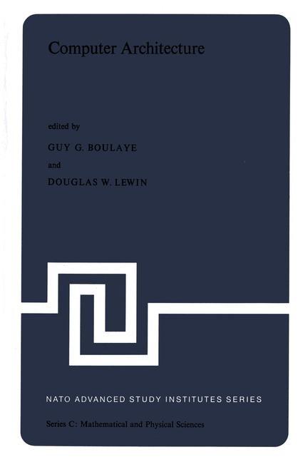 Abbildung von Boulaye / Lewin | Computer Architecture | 1977