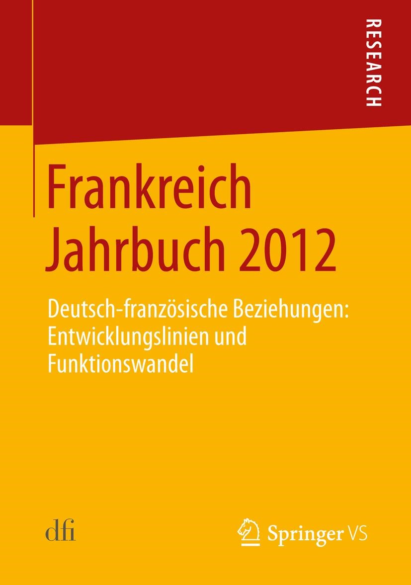 Abbildung von Frankreich Jahrbuch 2012 | 2013