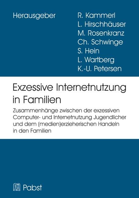 Abbildung von Kammerl / Hirschhäuser / Rosenkranz | EXIF – Exzessive Internetnutzung in Familien | 2012