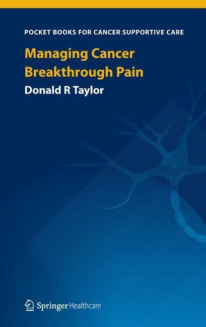 Abbildung von Taylor | Managing Cancer Breakthrough Pain | 2013