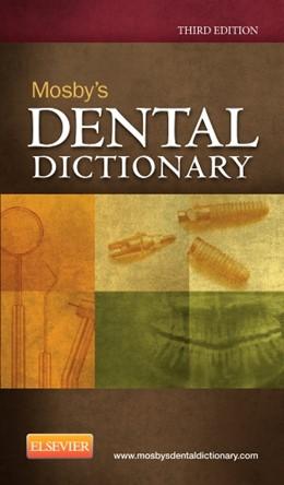 Abbildung von Mosby | Mosby's Dental Dictionary | 2013