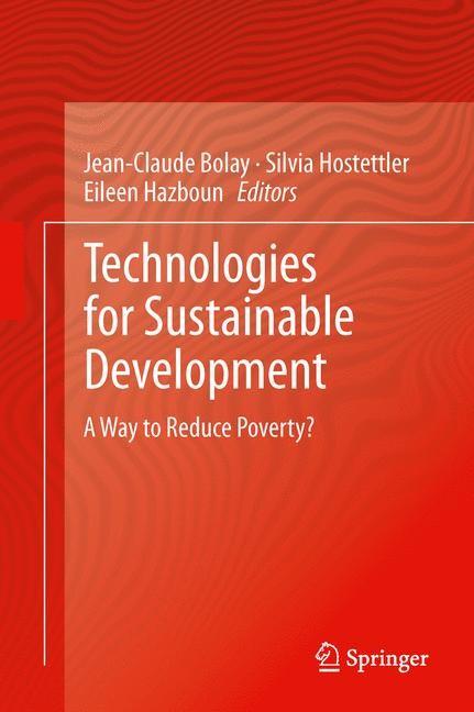 Abbildung von Bolay / Hostettler / Hazboun   Technologies for Sustainable Development   2013