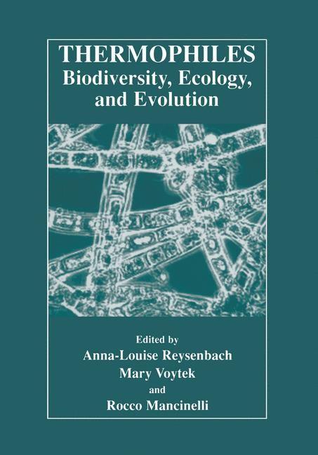 Abbildung von Reysenbach / Voytek / Mancinelli | Thermophiles: Biodiversity, Ecology, and Evolution | 2001