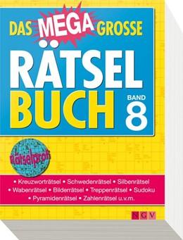 Abbildung von Das megagroße Rätselbuch 08   2013