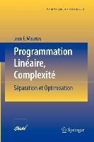 Abbildung von Maurras   Programmation Linéaire, Complexité   2002