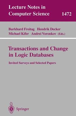 Abbildung von Freitag / Decker / Kifer / Voronkov   Transactions and Change in Logic Databases   1998   1472