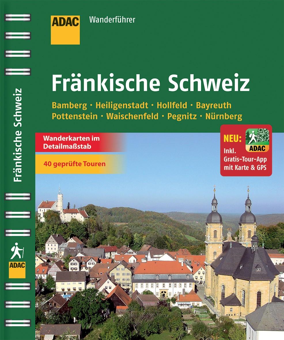 ADAC Wanderführer Fränkische Schweiz, 2013 | Buch (Cover)