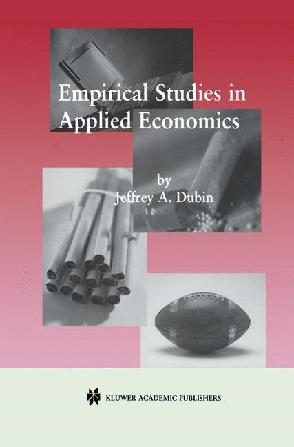 Empirical Studies in Applied Economics | Dubin, 2001 | Buch (Cover)