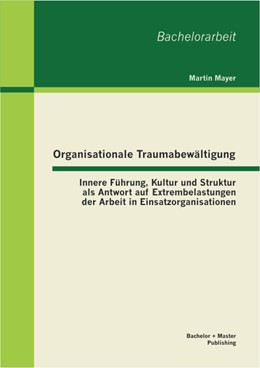 Abbildung von Mayer   Organisationale Traumabewältigung: Innere Führung, Kultur und Struktur als Antwort auf Extrembelastungen der Arbeit in Einsatzorganisationen   2013