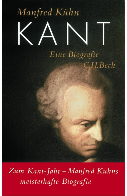 Cover: Manfred Kühn, Kant