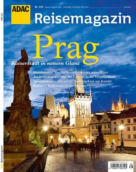 ADAC Reisemagazin Prag, 2013 | Buch (Cover)