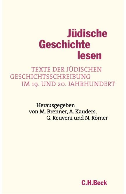 Cover: , Jüdische Geschichte lesen