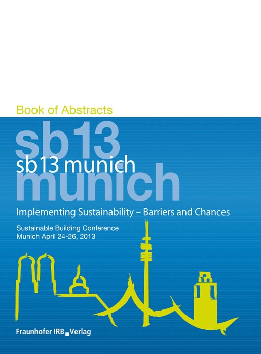 Implementing Sustainability - Barriers and Chances | / Hauser / Lützkendorf / Essig, 2013 | Buch (Cover)