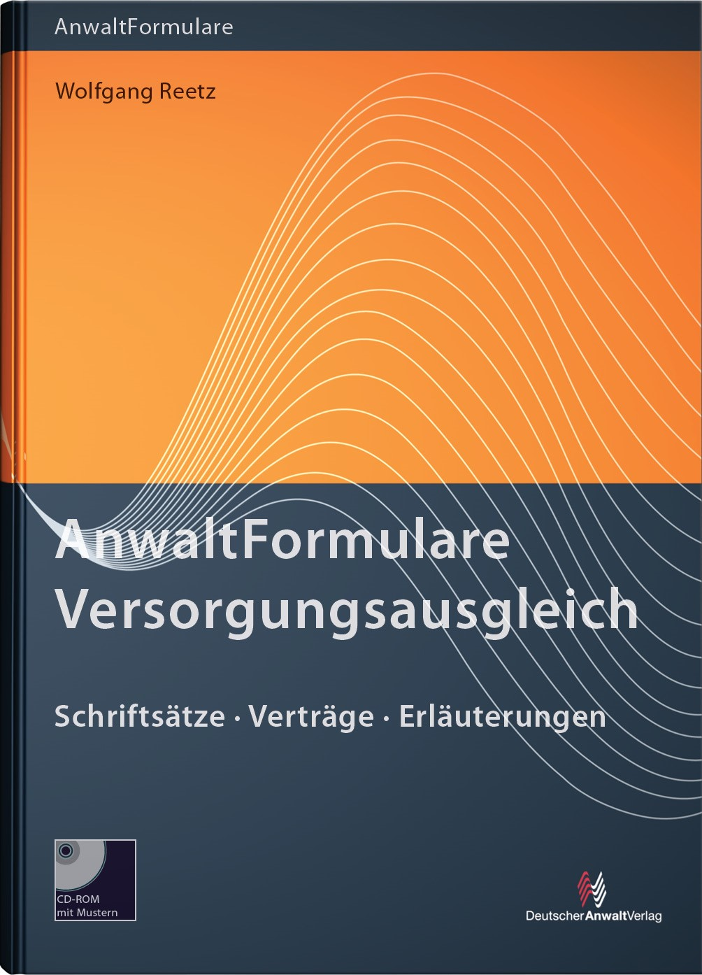 Anwaltformulare Versorgungsausgleich | Reetz, 2013 (Cover)