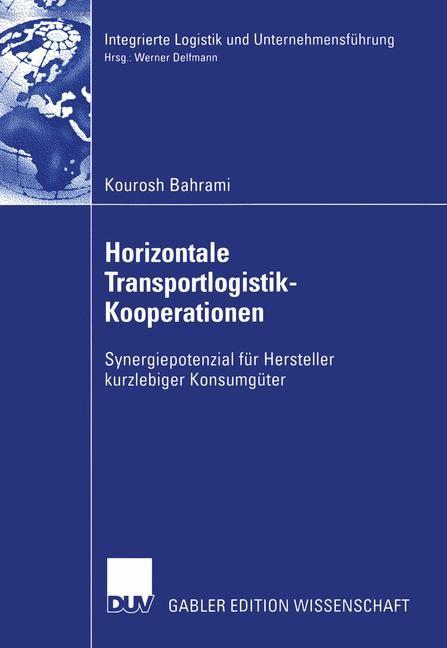 Abbildung von Bahrami | Horizontale Transportlogistik-Kooperationen | 2003