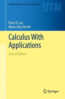 Abbildung von Lax / Terrell | Calculus With Applications | 2013