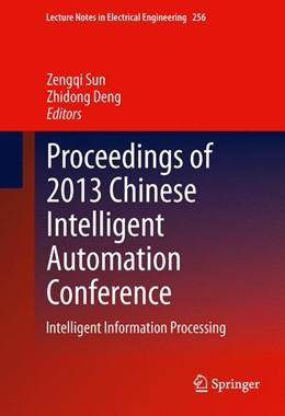 Abbildung von Sun / Deng   Proceedings of 2013 Chinese Intelligent Automation Conference   2013   Intelligent Information Proces...   256
