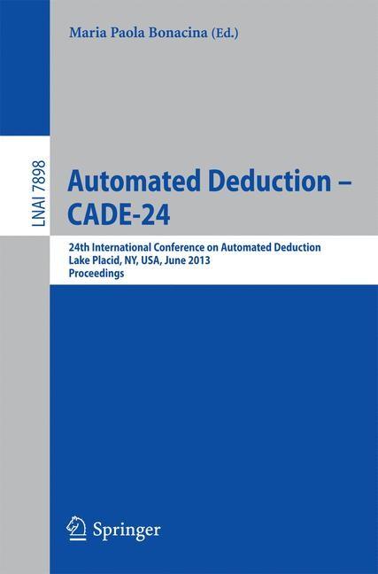 Abbildung von Bonacina | Automated Deduction -- CADE-24 | 2013