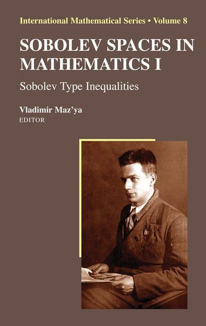 Abbildung von Maz'ya | Sobolev Spaces in Mathematics I | 2008