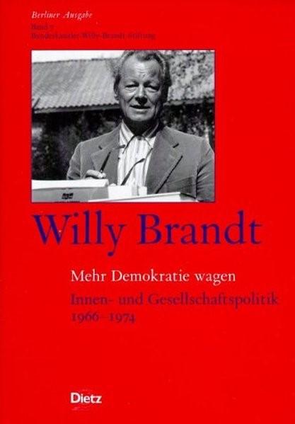 Abbildung von Brandt | Berliner Ausgabe / Mehr Demokratie wagen