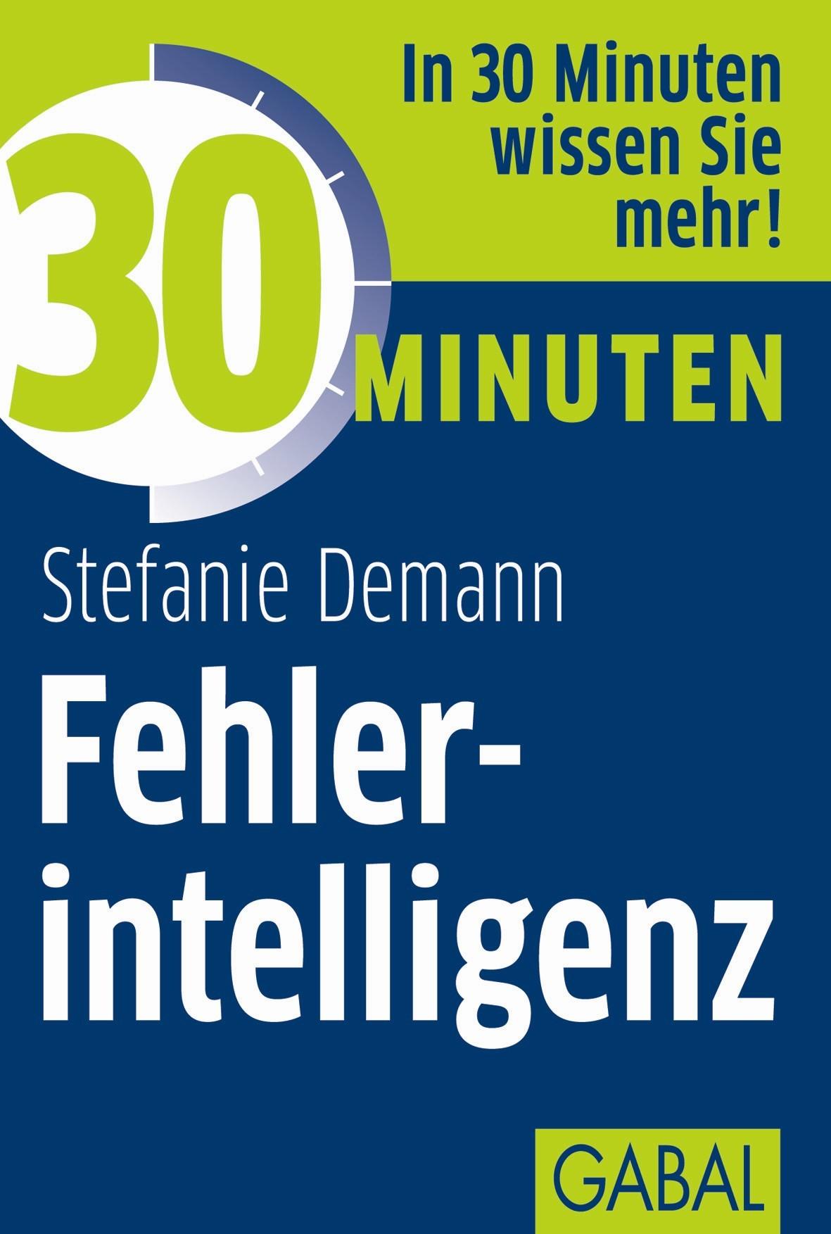 Abbildung von Demann | 30 Minuten Fehlerintelligenz | 2013